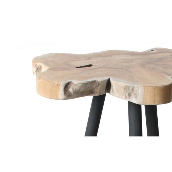 Table Tronc De Teck La Maison Chic