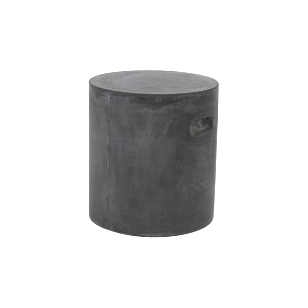 table pouf beton gris. Black Bedroom Furniture Sets. Home Design Ideas