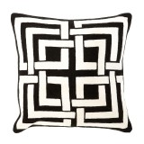 Coussin Bliss Black Grey