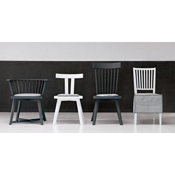 chaise gray 21 de gervasoni. Black Bedroom Furniture Sets. Home Design Ideas